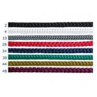 Шнурок для пакетов 4 мм, бордовый №48 (200 м)