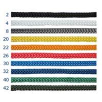 Шнурок для пакетов 4 мм, желтый №20 (400 м)