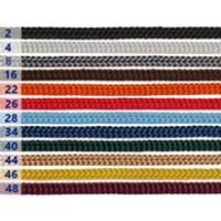 Шнурок для пакетов 4 мм, серебро №8 (100 м)