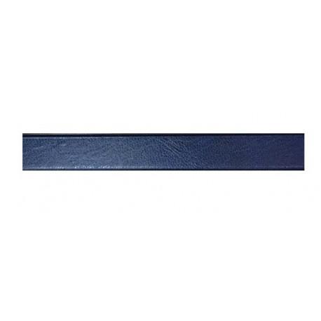 """Каналы металбинд А4  с покрытием """"кожа"""" 10 мм, синие (10 шт.)"""