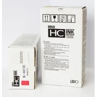 Краска Riso для принтеров HC, красная, S-4672E