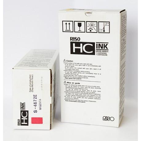 Краска Riso для принтеров HC, синяя, S-4671E
