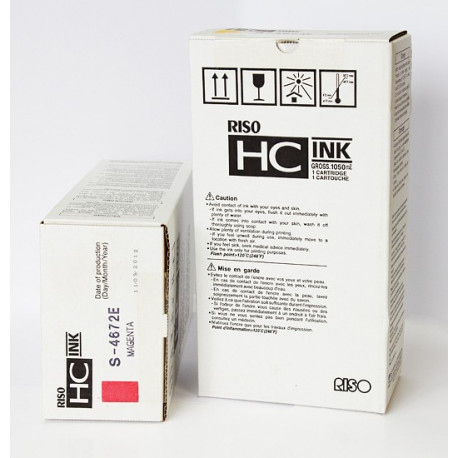 Краска Riso для принтеров HC, черная, S-4670E