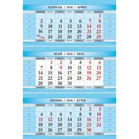 ВСЕ ВЫХОДНЫЕ МИНИ голубой 3-сп календарные блоки