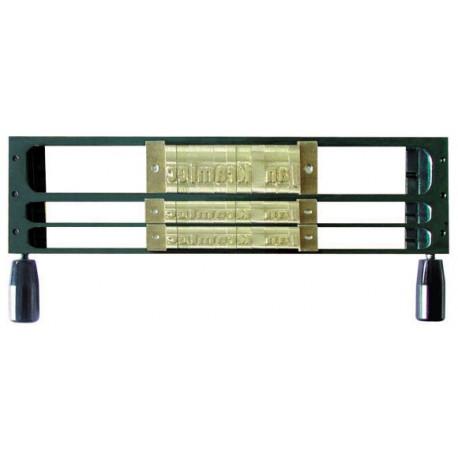 Рамка для шрифта Металбинд 1L 9 мм /2L 4 мм
