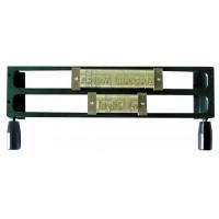 Рамка для шрифта Металбинд 2L 9 мм