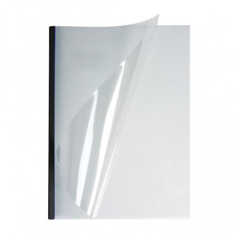 Мягкие обожки А4 O.EasyCOVER прозрачные 13,0 мм, черные