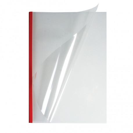 Мягкие обожки А4 O.EasyCOVER прозрачные 7,0 мм, красные