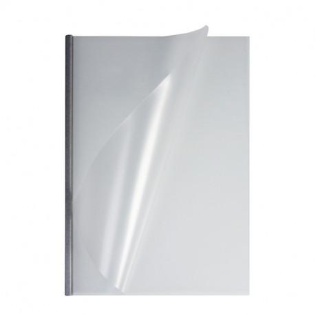 Мягкие обожки А4 O.EasyCOVER матовые 10,0 мм, серебряные