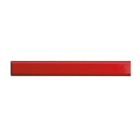 Каналы металбинд 304 мм, 10 мм красные (25 шт.)