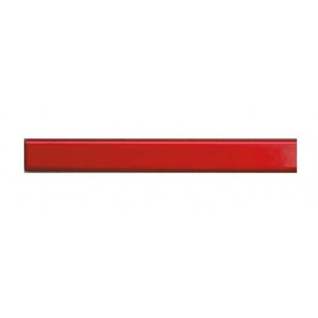 Каналы металбинд 304 мм, mini красные (25 шт.)