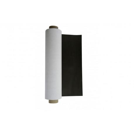 Магнитный винил в рулонах 0,62х30 м, толщина 0,4 мм, с клеевым слоем