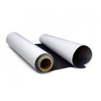 Магнитный винил в рулонах 0,62х30 м, толщина 0,7 мм, с белым матовым ПВХ покрытием