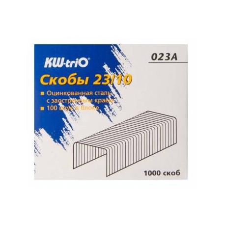 Скобы для степлеров 23/10 (1000 шт.)