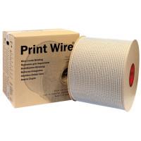 1/2 белая металлическая пружина в бобине 3:1 (12,7 мм), 25000 петель Printwire