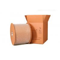 1/4 белая металлическая пружина в бобине 3:1 (6,4 мм), 87000 петель MAXYS