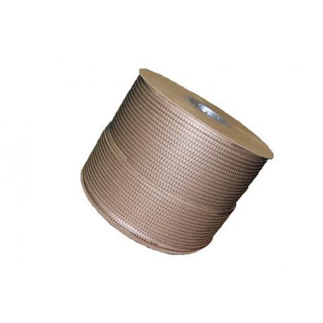 1/4 белая металлическая пружина в бобине 3:1 (6,4мм), 89 000 петельWire-O