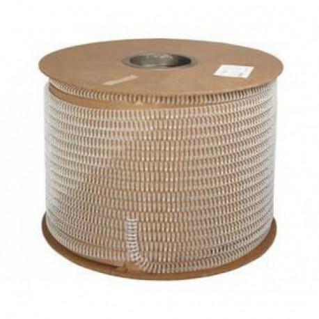 1/2 серебро металлическая пружина в бобине 3:1 (12,7 мм), 24000 петель QP