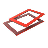 Курсор для календаря ДПС на блок миди 320–360 мм, красный, (100 шт.)