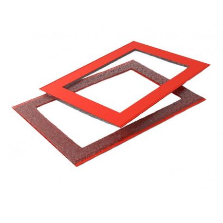 Курсор для календаря ДПС на блок мини 260–320 мм, красный, (100 шт.)