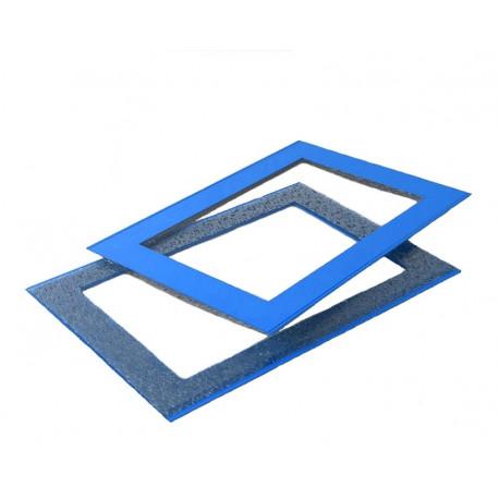 Курсор для календаря ДПС на блок мини 260–320 мм, синий, (100 шт.)