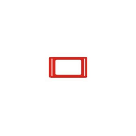 Курсор для календаря Драйв на блок 260–320 мм, красный, (100 шт.)