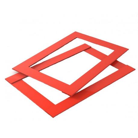 Курсор для календаря Рейл на блок 340–380 мм, красный, в сборе (100 шт)