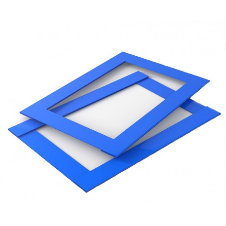 Курсор для календаря Рейл на блок 340–380 мм, синий, в сборе (100 шт)