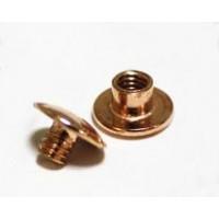 Болты полиграфические металлические 3,5 мм, медь (100 шт.)