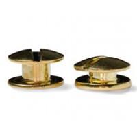 Болты полиграфические металлические 2,0 мм, золото (100 шт.)