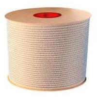 1/4 белая металлическая пружина в бобине 3:1 (6,4мм), 84000 петель  HY