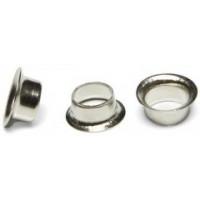 Кольца Пикколо (Piccolo) диаметр 4 мм (1000 шт) серебро, с длинной ножкой