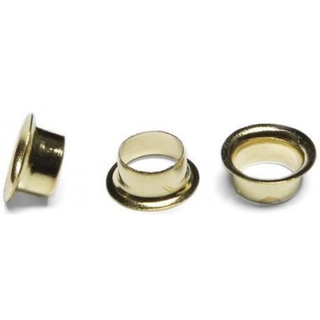Кольца Пикколо (Piccolo) диаметр 4 мм (1000 шт.) золото, с длинной ножкой