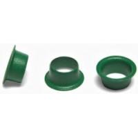 Кольца Пикколо (Piccolo) диаметр 5,5 мм (1000 шт.) зелёные, Китай