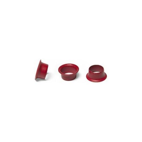 Кольца Пикколо (Piccolo) диаметр 5,5 мм (1000 шт.) красные, Китай