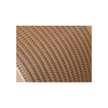 """5/8"""" Металлическая пружина в бобине 2:1 золото (16 мм), 10000 петель Wire-O"""