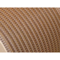 """7/8"""" Металлическая пружина в бобине 2:1 золото (22,2 мм), 5000 петель"""