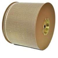 """1"""" Металлическая пружина в бобине 2:1 белая (25,4 мм), 3700 петель Wire-O"""