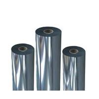 Пленка для ламинации 330х200х24 мкн, металлизированная серебро