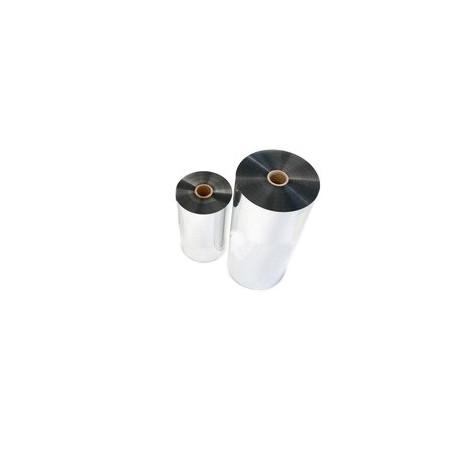 Пленка для ламинирования 500х100х24 мкн, металлизированная, серебро