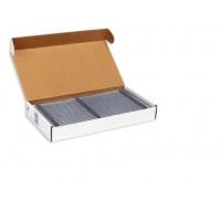 Пружины металлические переплетные шаг 3:1 3/16 (4,8 мм), 34 кр, черный (100 шт)К