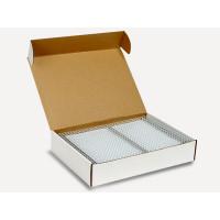 Пружины металлические переплетные шаг 3:1 1/4 (6,4 мм), 34 кр, белый, (100шт)К