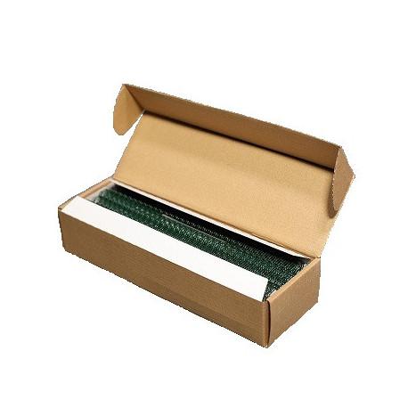 Пружины металлические переплетные шаг 3:1 3/8 (9,5 мм), 34 кр, зеленый (100 шт)К