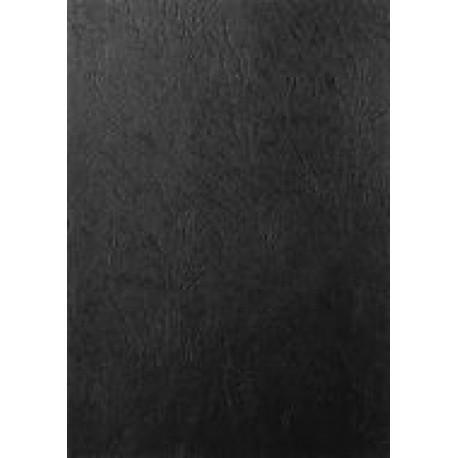 """Обложка для переплета картон """"кожа"""" А3, черный (100 шт)"""