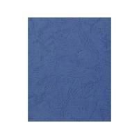 """Обложка для переплета картон """"кожа"""" А4, синий (100 шт)"""