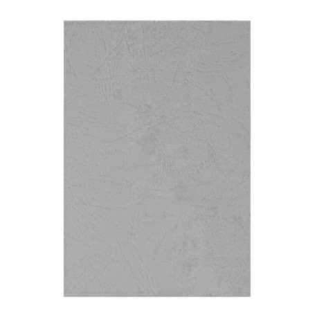 """Обложка для переплета картон """"кожа"""" А4, серый (100 шт)"""