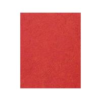 """Обложка для переплета картон """"кожа"""" А4, красный (100 шт)"""