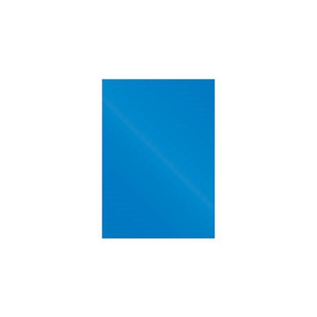 """Обложка для переплета картон """"глянец"""" А4, синий (100 шт)"""