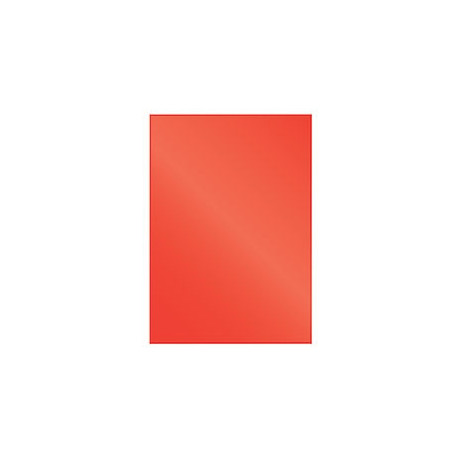 """Обложка для переплета картон """"глянец"""" А4, красный (100 шт)"""