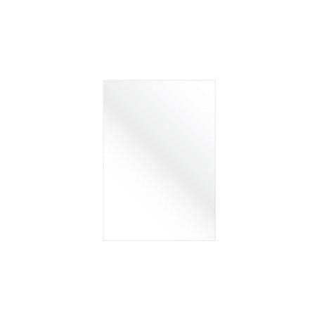 """Обложка для переплета картон """"глянец"""" А4, белый (100 шт)"""
